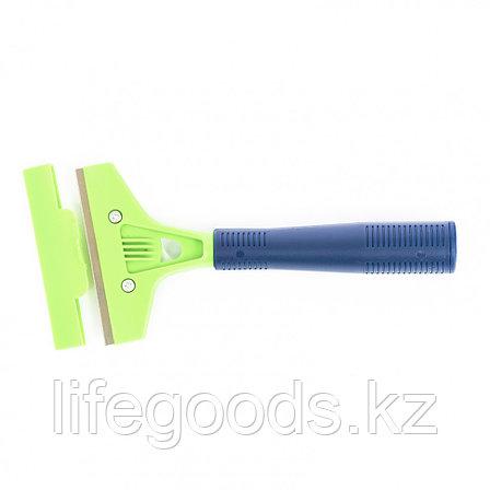 Скребок, лезвие 100 мм, пластиковая ручка, 200 мм Сибртех, фото 2