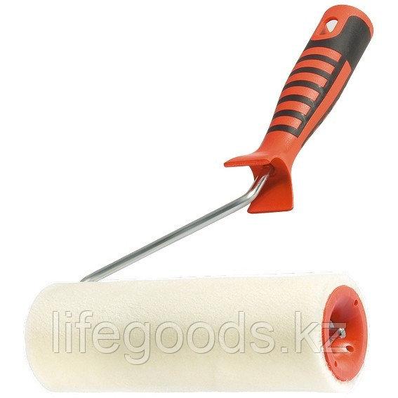 """Валик """"Велюр"""" с двухкомпонентной ручкой, 180 мм, ворс 4 мм, D 48 мм, D ручки 6 мм, шерсть Matrix"""