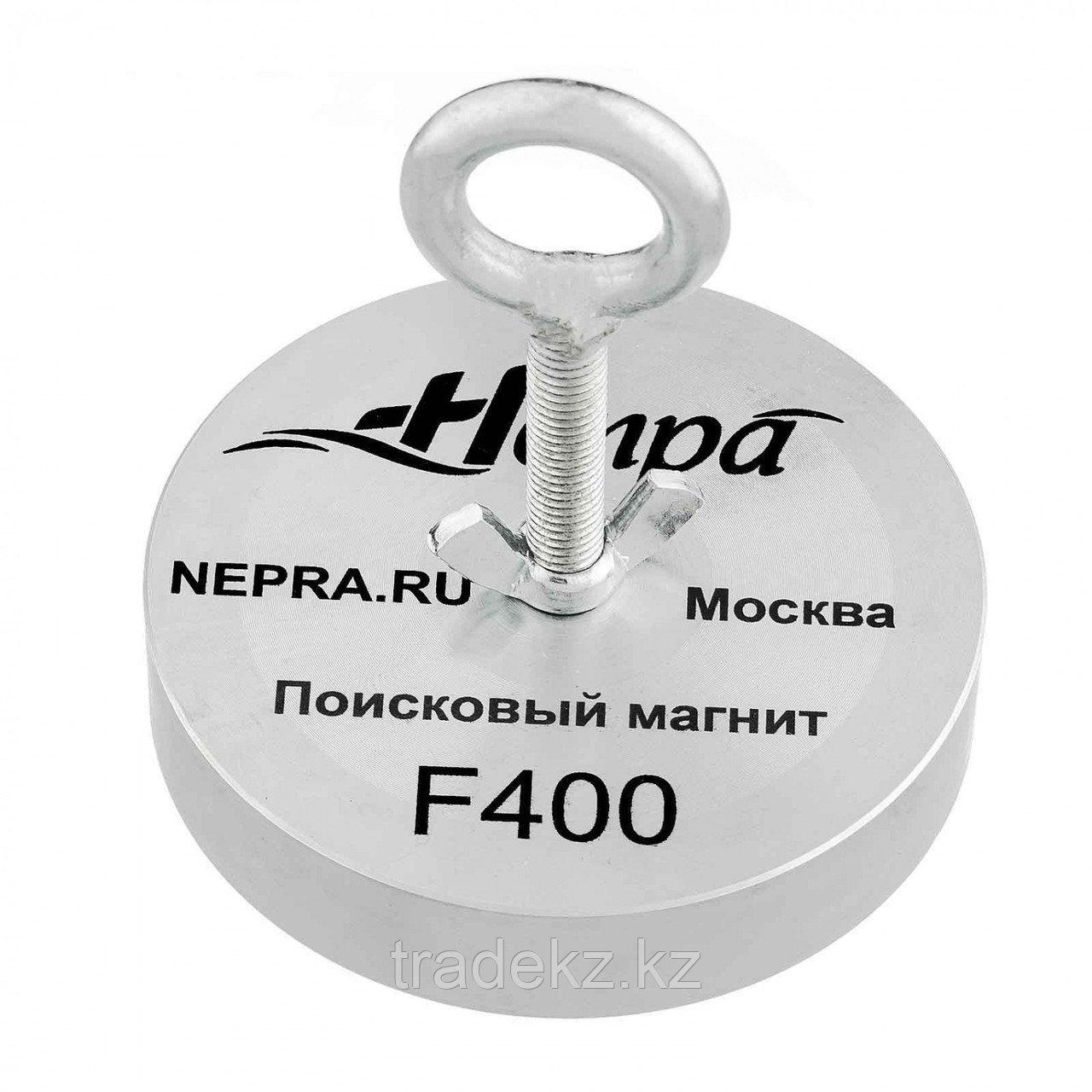 Поисковый магнит односторонний Непра F400, усилие отрыва 400 кг