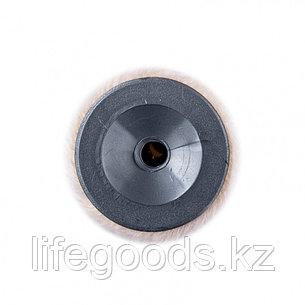 """Валик сменный """"Велюр"""" Pro, 180 мм, ворс 4 мм, D 40 мм, D ручки 6 мм, шерсть 50% и полиакрила 50% Mtx, фото 2"""