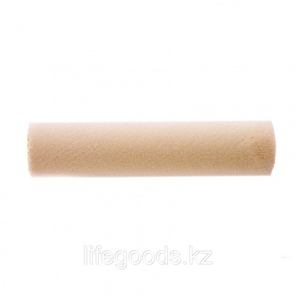 "Валик сменный ""Лаки"", 250 мм, ворс 5 мм, D 48 мм, D ручки 8 мм, Велюр Сибртех"