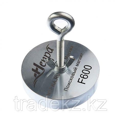 Поисковый магнит односторонний Непра F600, усилие отрыва 600 кг, фото 2