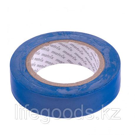 Изолента ПВХ, 15 мм х 10 м, синяя, 150 мкм Matrix, фото 2