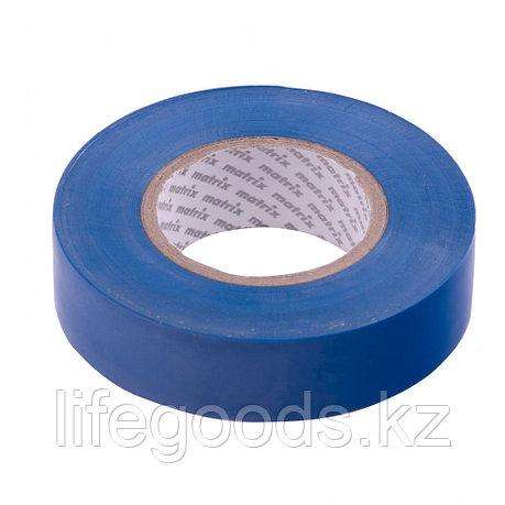 Изолента ПВХ, 19 мм х 20 м, синяя, 150 мкм Matrix, фото 2