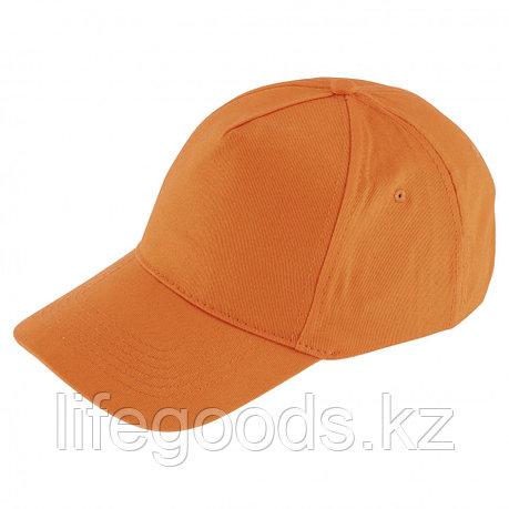Каскетка, цвет оранжевый, размер 52-62, Россия Сибртех, фото 2