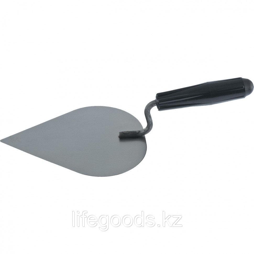 Кельма штукатура КШ, стальная, пластиковая ручка Россия