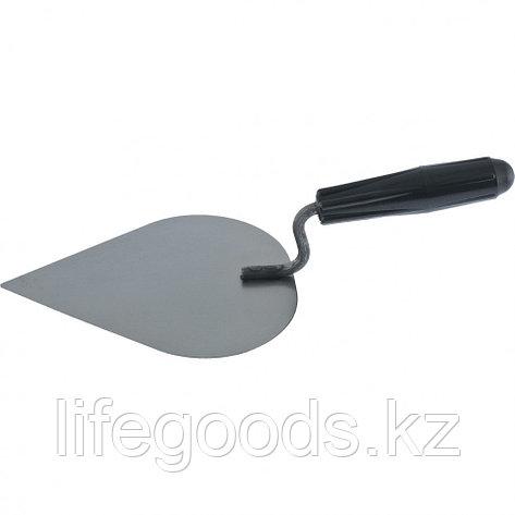 Кельма штукатура КШ, стальная, пластиковая ручка Россия, фото 2