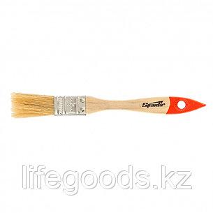 Кисть плоская SlimLine 3/4, натуральная щетина, деревянная ручка Sparta, фото 2