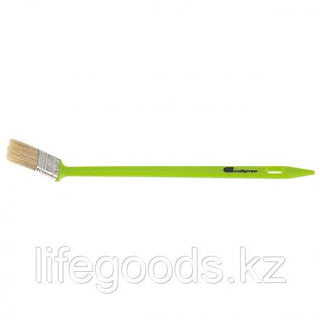 Кисть радиаторная 36 мм, натуральная щетина, пластиковая ручка Сибртех, фото 2