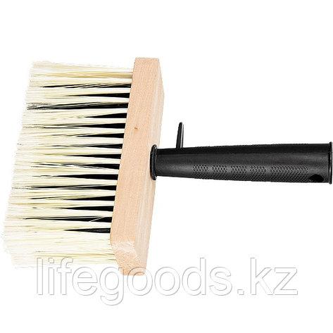 Кисть-макловица, 140 х 52 мм, искусственная щетина, деревянный корпус, пластмассовая ручка Matrix, фото 2