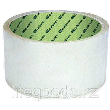 Клейкая лента, 36 мм х 40 м, цвет прозрачный Сибртех, фото 2