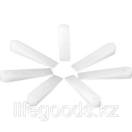Клинья, 30 х 6 х 5 мм, для кладки плитки, 100 шт Сибртех