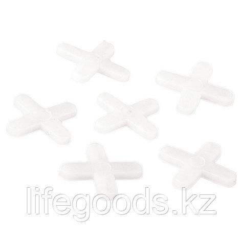 Крестики, 4 мм, для кладки плитки, 250 шт, Sparta, фото 2
