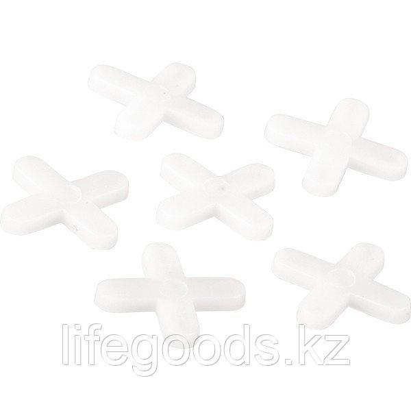 Крестики, 5 мм, для кладки плитки, 60 шт Сибртех