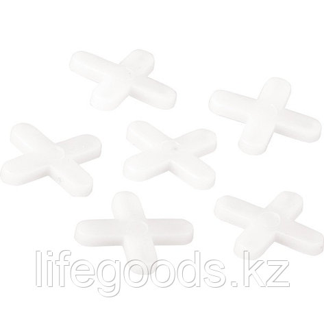 Крестики, 5 мм, для кладки плитки, 60 шт Сибртех, фото 2