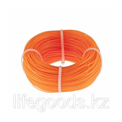 Леска строительная, 100 м, D 1 мм, цвет оранжевый Сибртех, фото 2