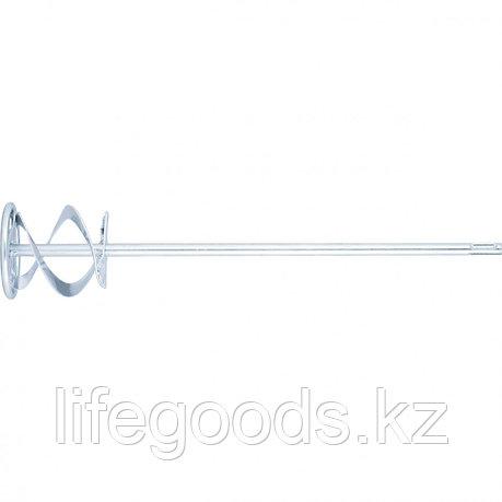 Миксер для красок и штукатурных смесей, 120 х 600 мм, оцинкованный, хвостовик SDS Plus Matrix, фото 2