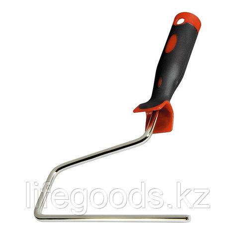 Ручка для валиков 250 мм, D 8 мм, никелированная двухкомпонентная Matrix 81222, фото 2