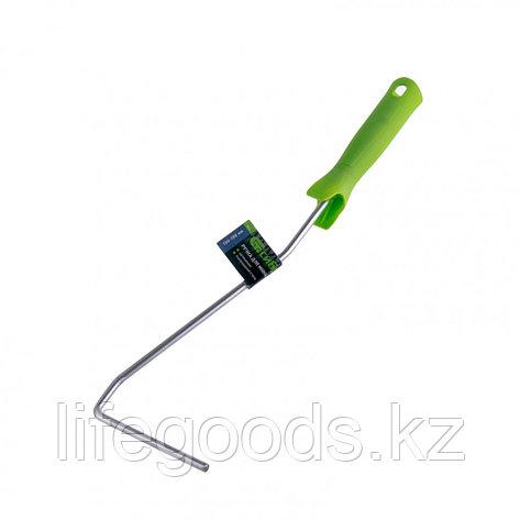 Ручка для мини-валиков, 100-150 мм, D ручки 6 мм, удлиненная, оцинкованная Сибртех 80576, фото 2