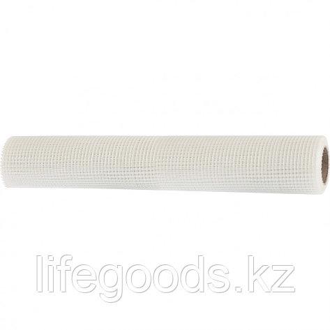 Сетка стеклотканевая штукатурная, размер ячеек 5 х 5 мм, 1000 мм х 10 м Matrix 89062, фото 2