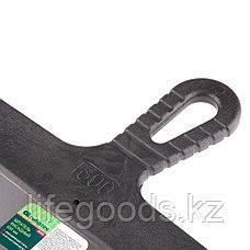 Шпатель фасадный из нержавеющей стали, 600 мм, пластмассовая ручка Сибртех 85452, фото 3