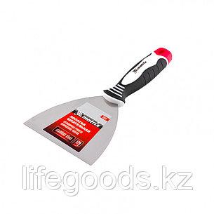 Шпательная лопатка из нержавеющей стали, 120 мм, трехкомпонентная ручка Matrix 85537, фото 2