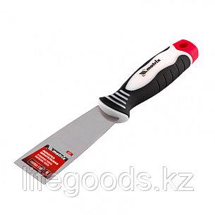Шпательная лопатка из нержавеющей стали, 40 мм, трехкомпонентная ручка Matrix 85531, фото 2