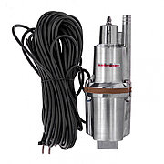 Вибрационный насос KVP300-25, 1080 л/ч, подъем 70 м, кабель 25 метров Kronwerk 97237