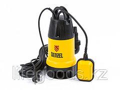 Дренажный насос DP 600, 600 Вт, подъем 7 м, 10000 л/ч Denzel 97222