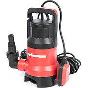Дренажный насос для грязной воды KP450, 450 Вт, подъем 6,5 м, 8000 л/ч Kronwerk 97231