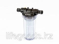 """Фильтр тонкой очистки F2, объем 2 л, D 1"""" Denzel 97282"""