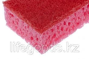 Губки для посуды Coral, 95 х 64 х 36 мм, 4 шт, Россия Elfe 92358, фото 2