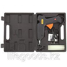 Клеевой пистолет с выключателем 12 мм в кейсе, 80 Вт, 6 г/мин Sparta 93033, фото 2