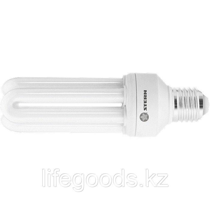 Лампа компактная люминесцентная, дуговая, 20 W, 4000K, E27, 8000ч Stern 90952