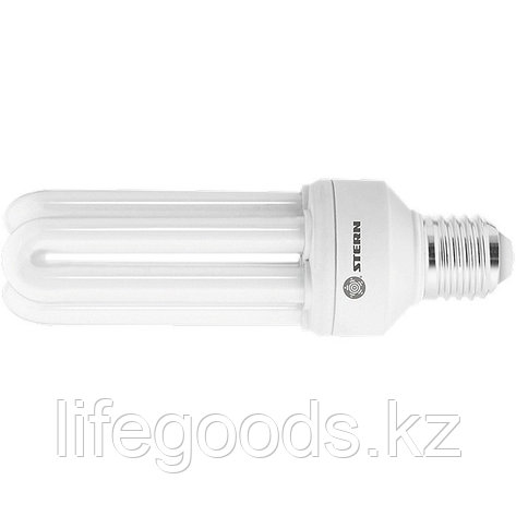 Лампа компактная люминесцентная, дуговая, 20 W, 4000K, E27, 8000ч Stern 90952, фото 2