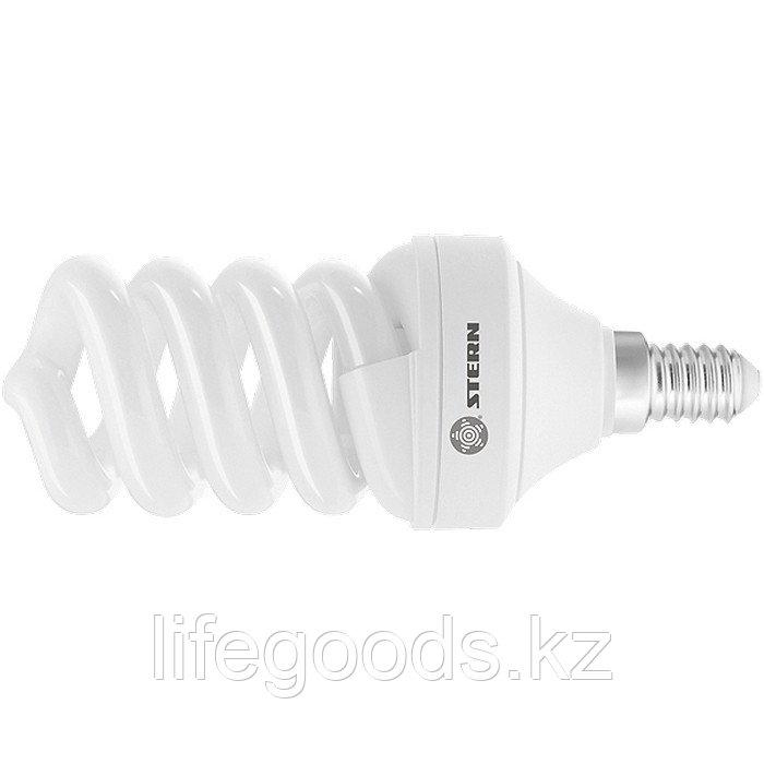 Лампа компактная люминесцентная, спиральная, 15 W, 2700K, E14, 8000ч Stern 90923