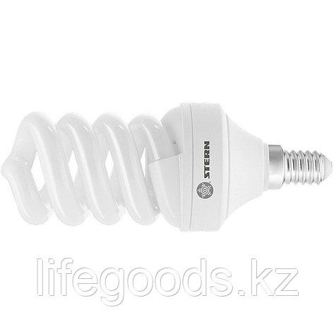 Лампа компактная люминесцентная, спиральная, 15 W, 2700K, E14, 8000ч Stern 90923, фото 2