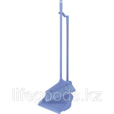 "Набор для уборки "" Ленивка"" (совок + щетка), сиреневый Elfe 93317, фото 2"