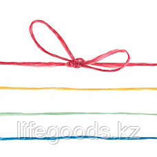 Набор шпагатов полипропиленовых, 6 шт, х 60 м, разные цвета, 1200 текс, 50 кгс Россия Сибртех 93884, фото 3