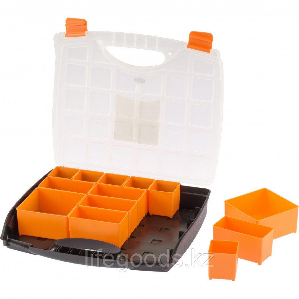 Органайзер с контейнерами 325 х 280 х 60 мм, пластик, Россия Stels 90724
