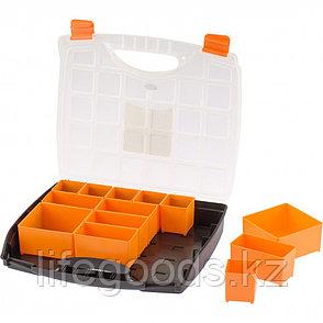 Органайзер с контейнерами 325 х 280 х 60 мм, пластик, Россия Stels 90724, фото 2
