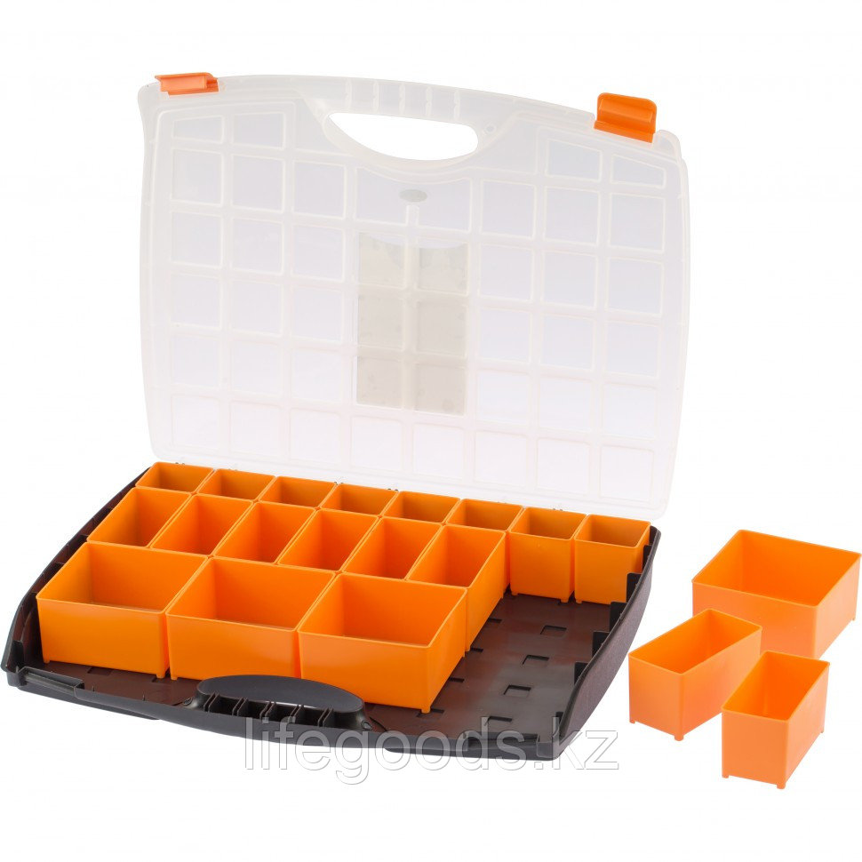 Органайзер с контейнерами 425 х 330 х 60 мм, пластик, Россия Stels 90725