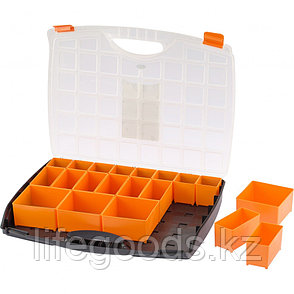 Органайзер с контейнерами 425 х 330 х 60 мм, пластик, Россия Stels 90725, фото 2