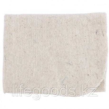 Салфетка для пола х/б белая 500 х 700 мм Россия Elfe 92326, фото 2