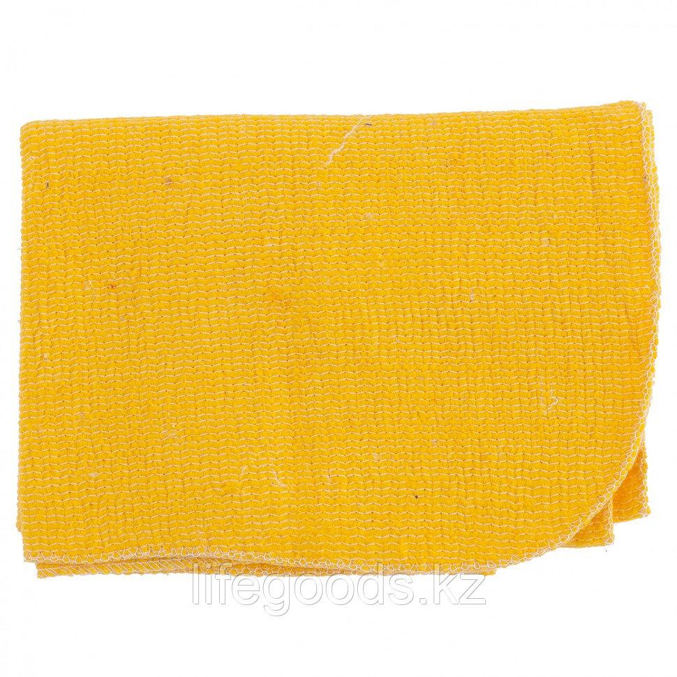 Салфетка для пола х/б желтая 500 х 700 мм Россия Elfe 92329