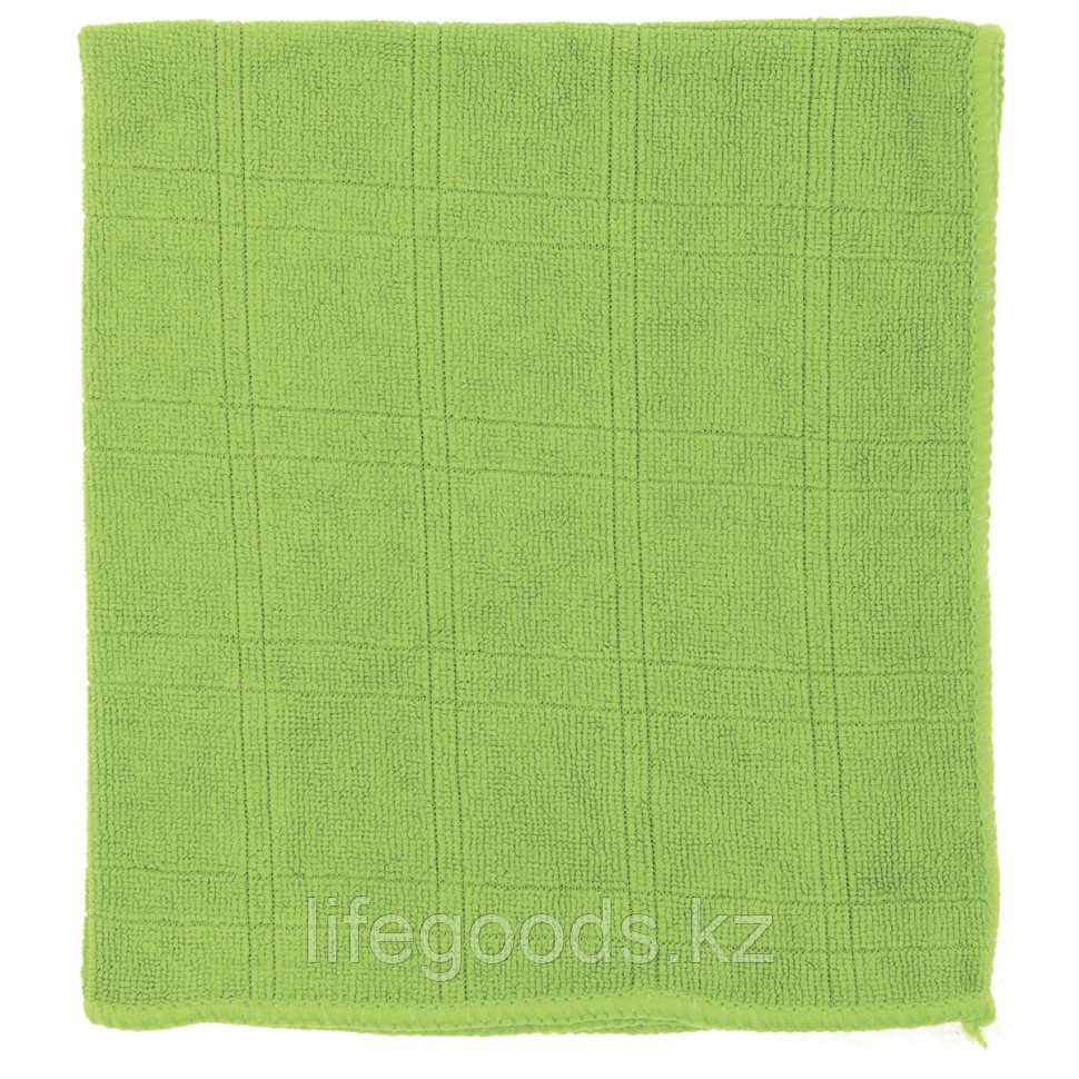 Салфетка из микрофибры для кухни зеленая 350 х 400 мм Elfe 92314
