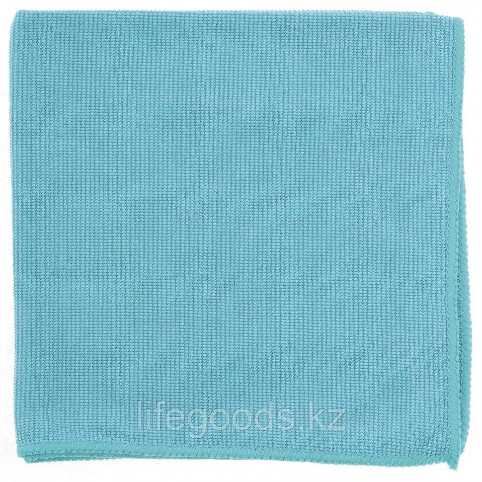 Салфетка из микрофибры жемчужная для бытовой техники и мебели, голубая, 400 х 400 мм Elfe 92317