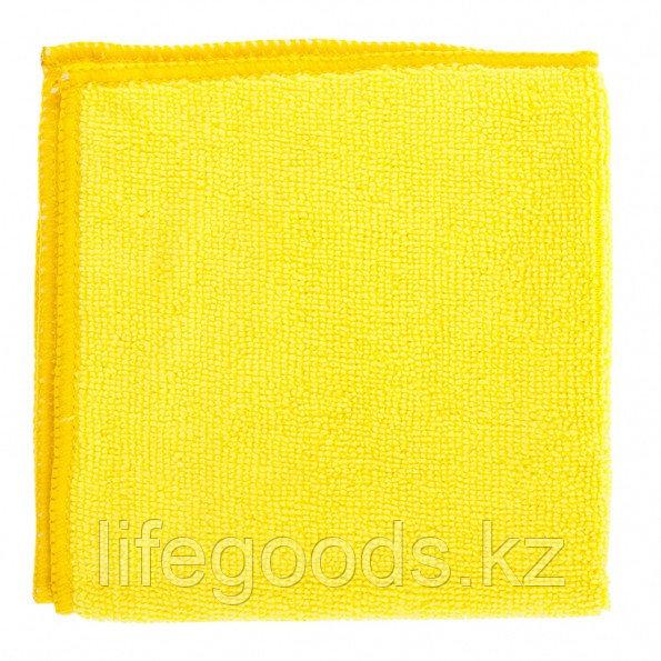 Салфетка универсальные из микрофибры желтые 300 х 300 мм Elfe 92303