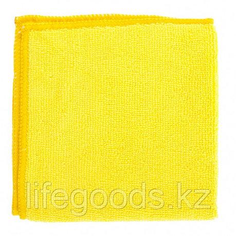 Салфетка универсальные из микрофибры желтые 300 х 300 мм Elfe 92303, фото 2