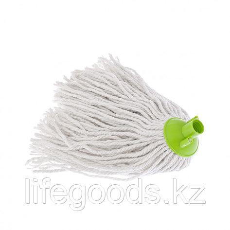Сменная насадка из хлопка, 200 г, зеленая для швабры 93520,93522 Elfe 93521, фото 2